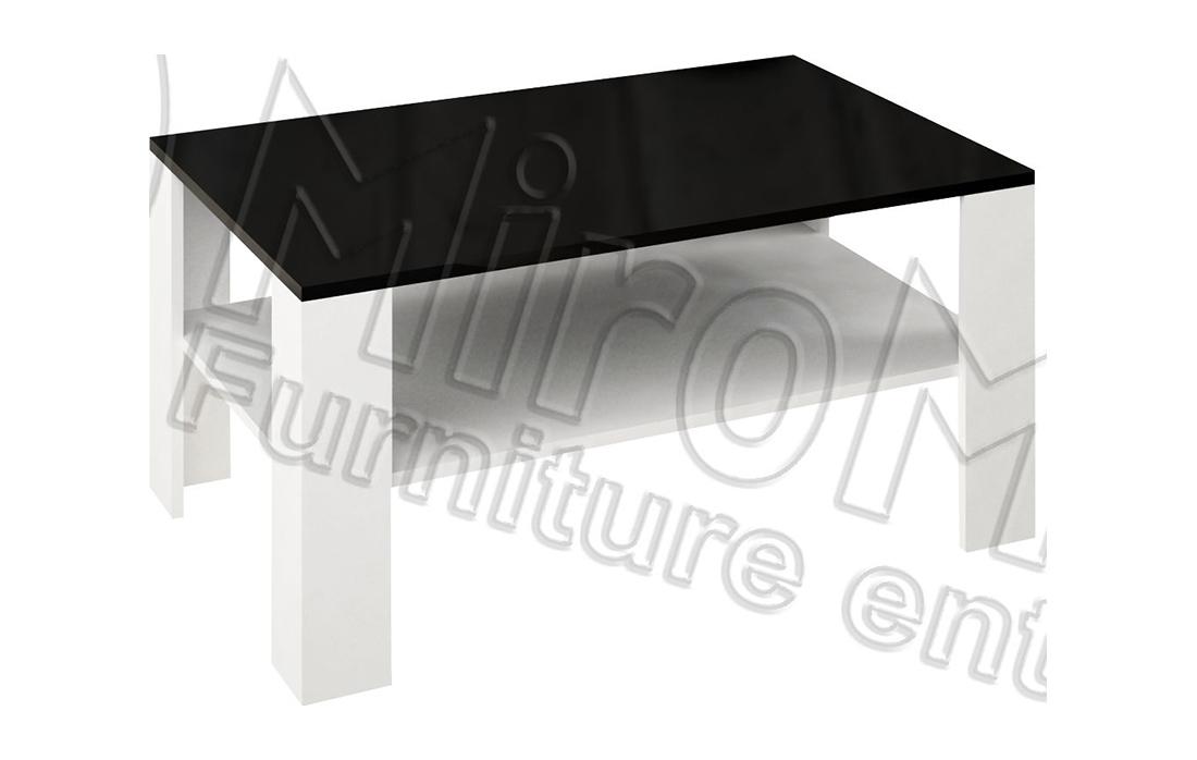 Стол журнальный большой «Терра» 110*70   Черный мат