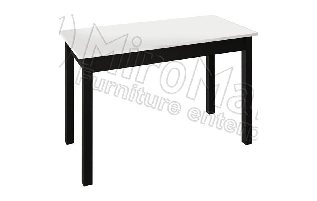 Стол столовый малый «Виола» 120*60 | Черный мат