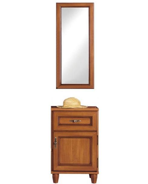 Комод с зеркалом 50 GKOM_1d/1s «Нью-Йорк» Яблоня локарно