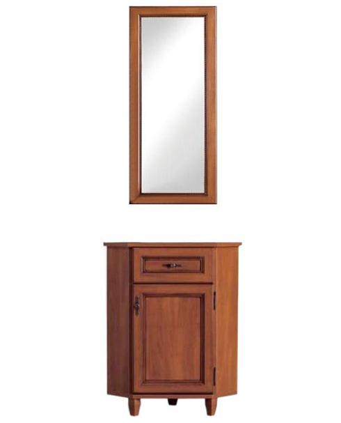 Комод с зеркалом 50 угловой GKOM_1d/1sn «Нью-Йорк» Яблоня локарно