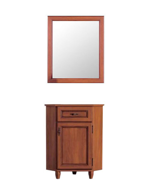 Комод с зеркалом 60 угловой GKOM_1d/1sn «Нью-Йорк» Яблоня локарно