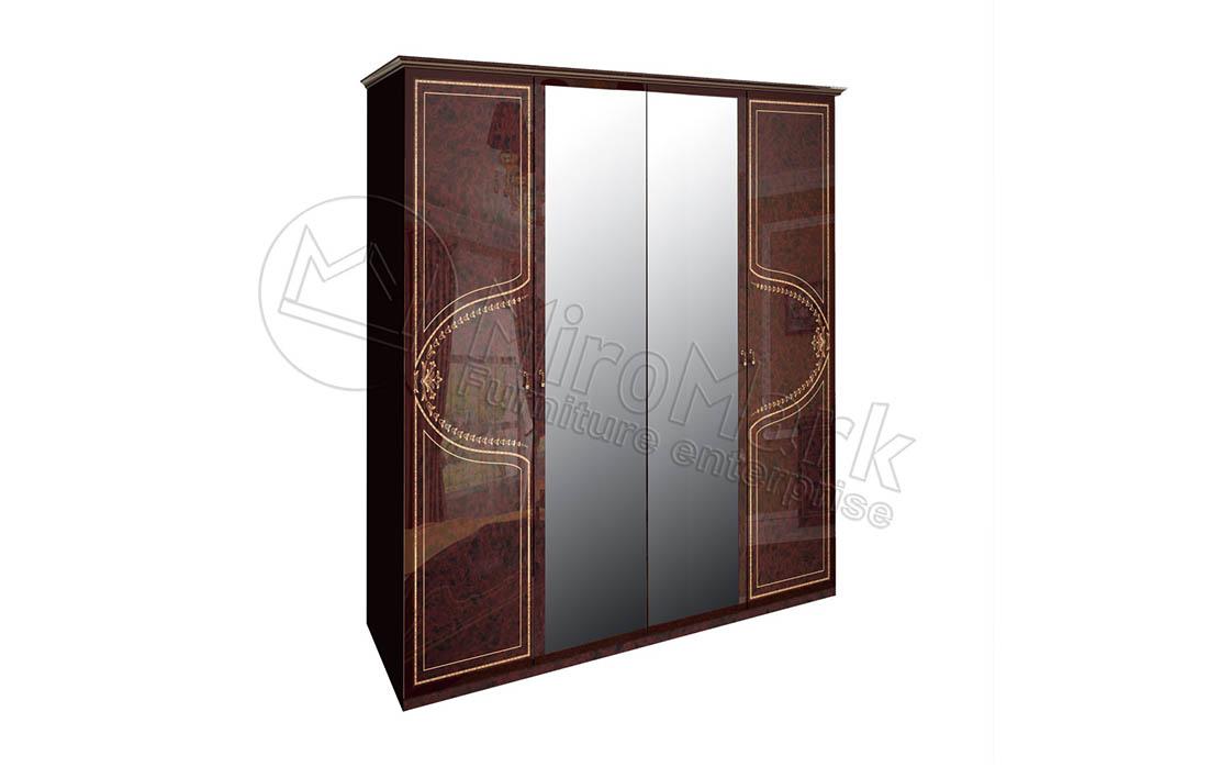 Фото Шкаф 4д «Мартина» с зеркалом | Радика махонь - ціна 9 338  - SOFINO.UA