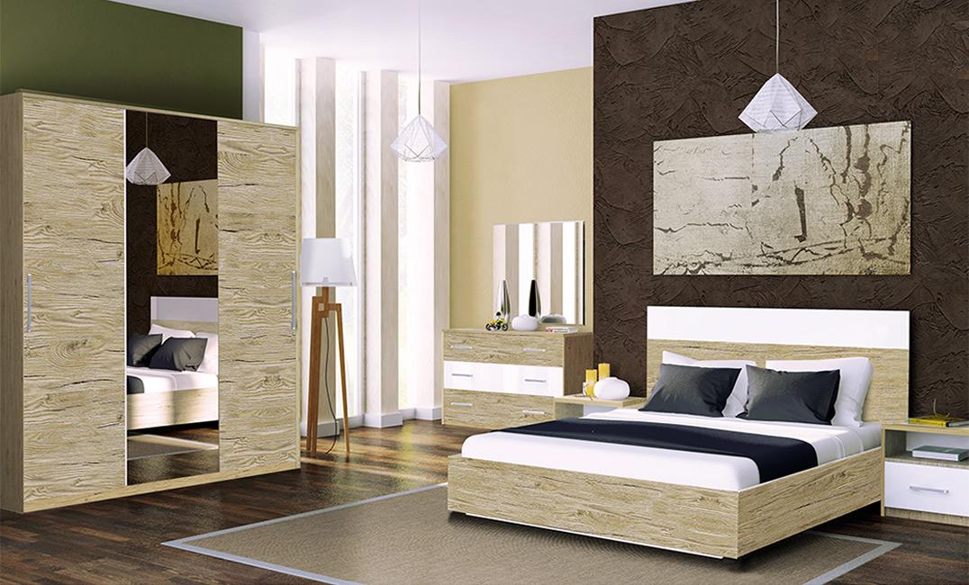 Фото Спальня «Соната» №461607 - ціна 17 255  - SOFINO.UA
