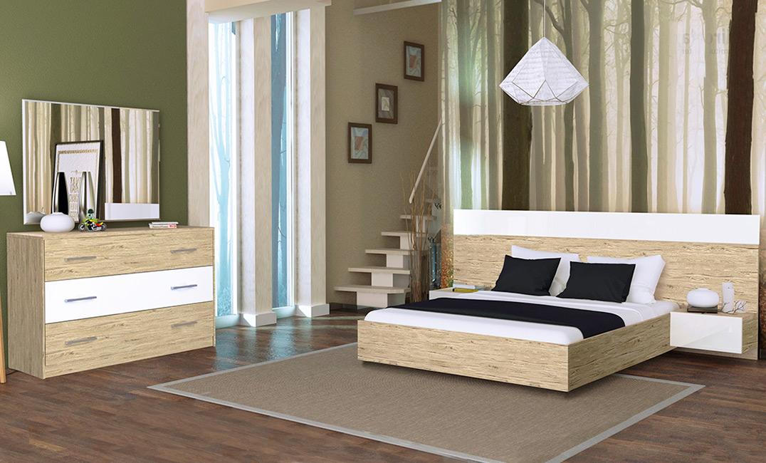 Фото Спальня «Соната с тумбами» №461608 - SOFINO.UA