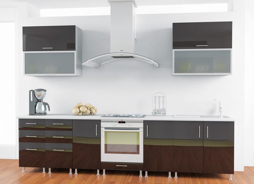 Комплект кухни «Мода-58» | без доводчиков
