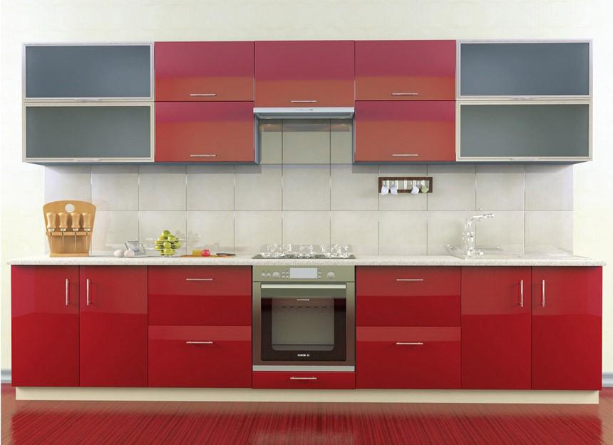 Комплект кухни «Мода-64» | без доводчиков