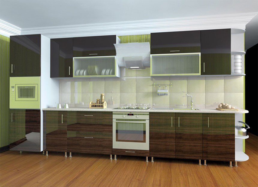 Комплект кухни «Мода-66» | без доводчиков