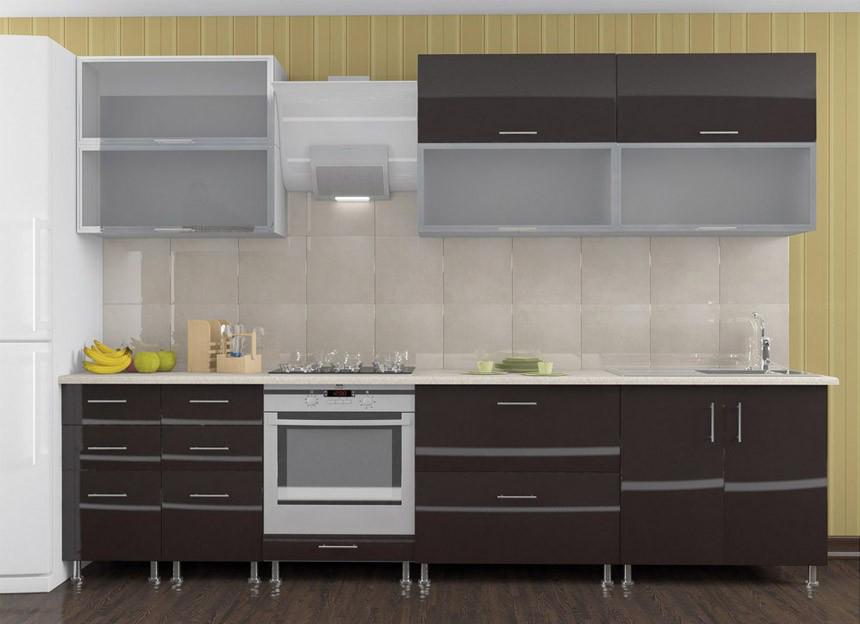 Комплект кухни «Мода-68» | без доводчиков