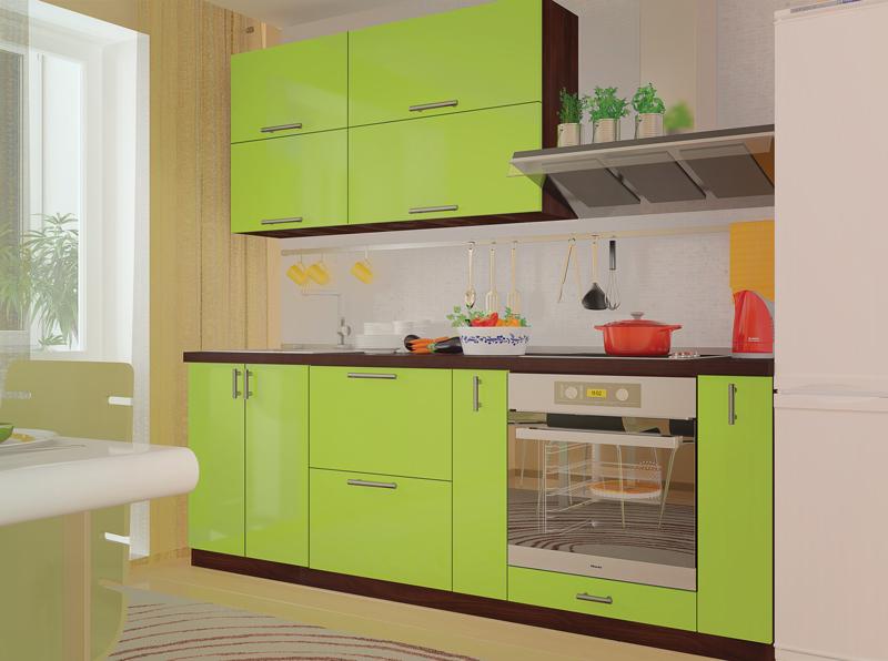 Комплект кухни «Мода-70» | без доводчиков
