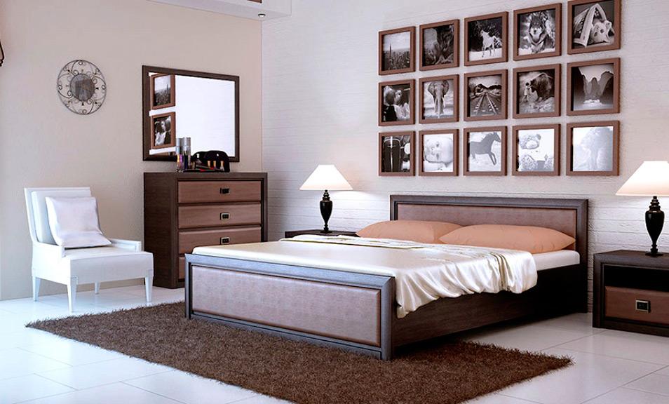 Спальня «Коен МДФ» хард