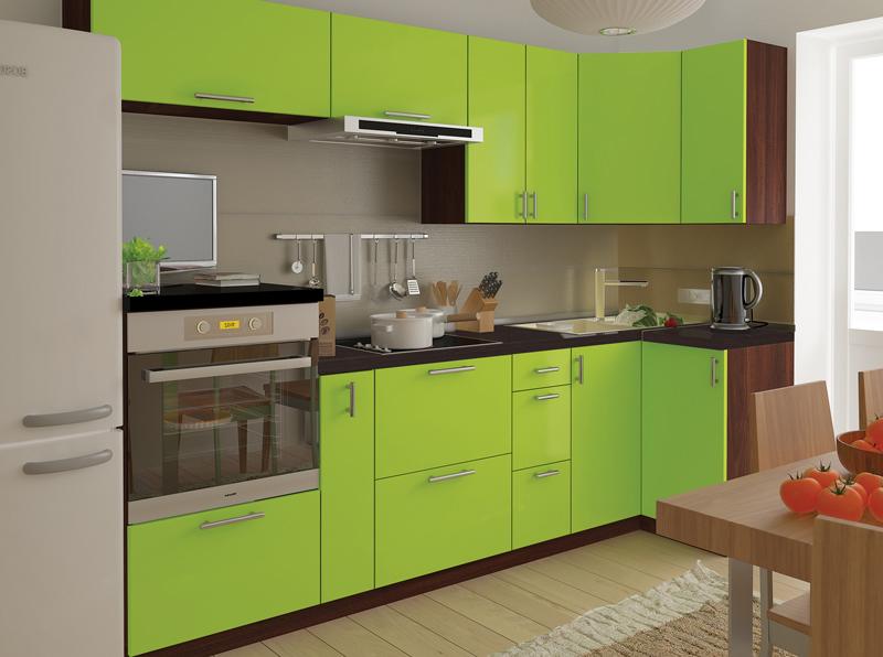 Комплект угловой кухни «Мода-71» 260 | без доводчиков