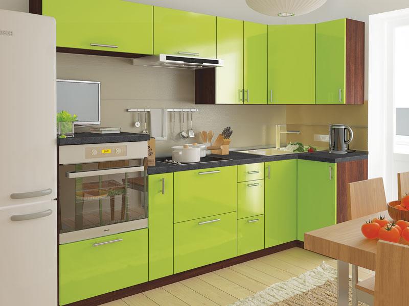 Комплект угловой кухни «Мода-72» 260 | без доводчиков