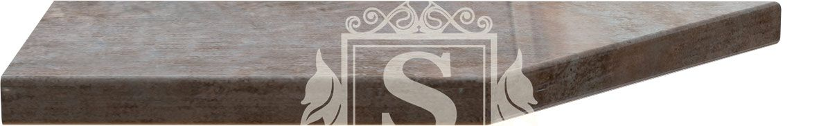 Столешница угловая «Травентино» 180 см (28 мм) L | Левая