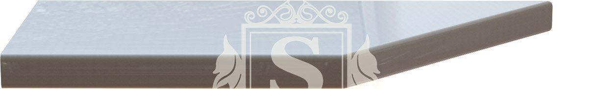 Столешница угловая «Скай светлый» 180 см (28 мм) L | Левая