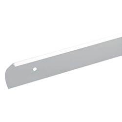Алюминиевый торцовочный профиль | левый (28 мм)