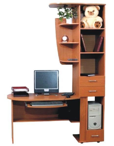 Фото Компьютерный стол «Нептун» NIKA мебель - sofino.ua