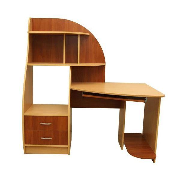 Фото Компьютерный стол «Деметра» NIKA мебель - sofino.ua