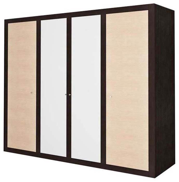 Шкаф 4d «Капри» | Венге светлое