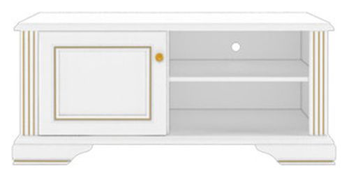 Тумба РТВ 120 «Вайт» | Сосна золотая
