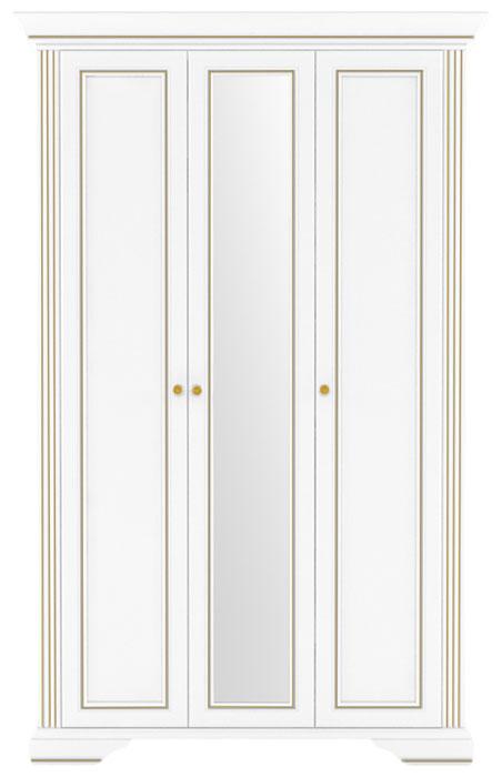 Шкаф 3D(2S) «Вайт» | Сосна золотая