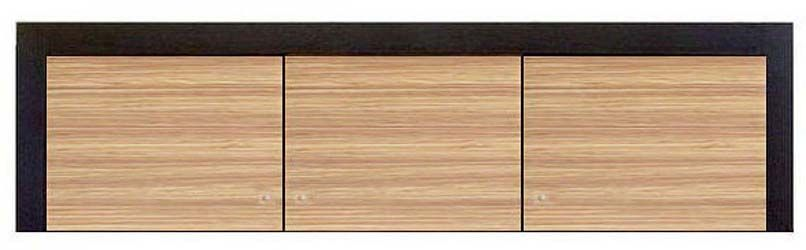 Надставка шкафа 3d «Капри» | Зебрано африканское