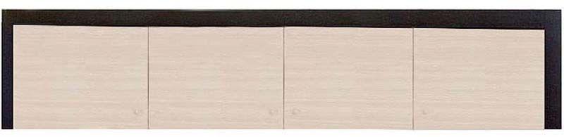 Надставка шкафа 4d «Капри» | Венге светлое