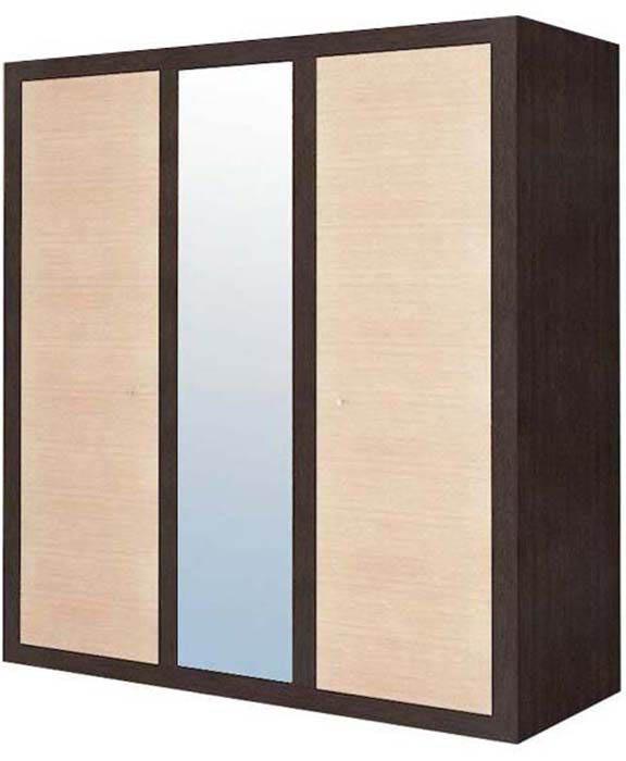 Шкаф 3d «Капри» | Венге светлое