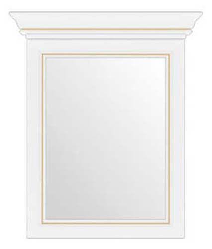 Зеркало 60 «Вайт» | Сосна золотая
