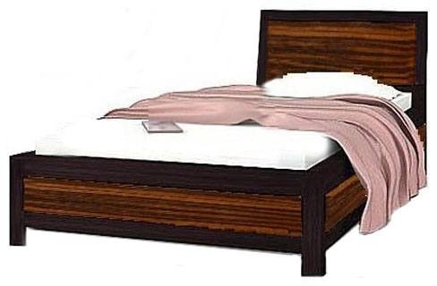 Кровать 90 «Капри» | Маккасар