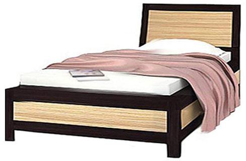 Кровать 90 «Капри» | Зебрано африканское