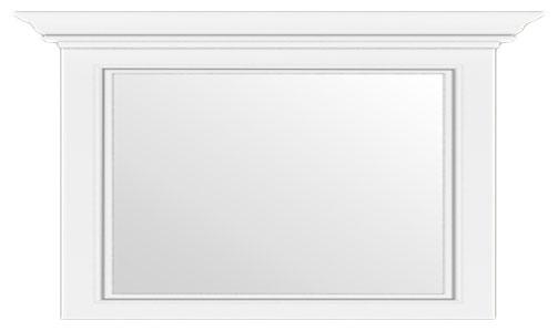 Зеркало 160 «Вайт» | Сосна серебренная