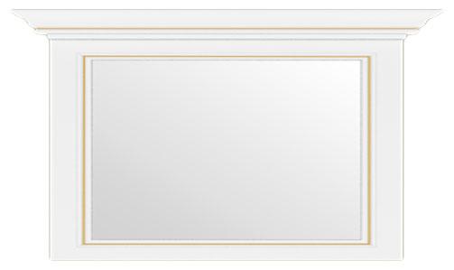 Зеркало 160 «Вайт» | Сосна золотая