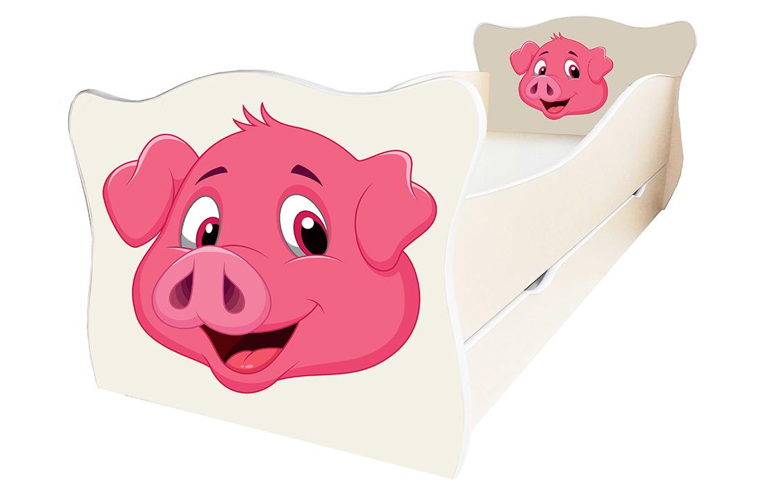 Фото Кровать детская «Animal 11» 70*140 | Код товара: 610485 - SOFINO.UA