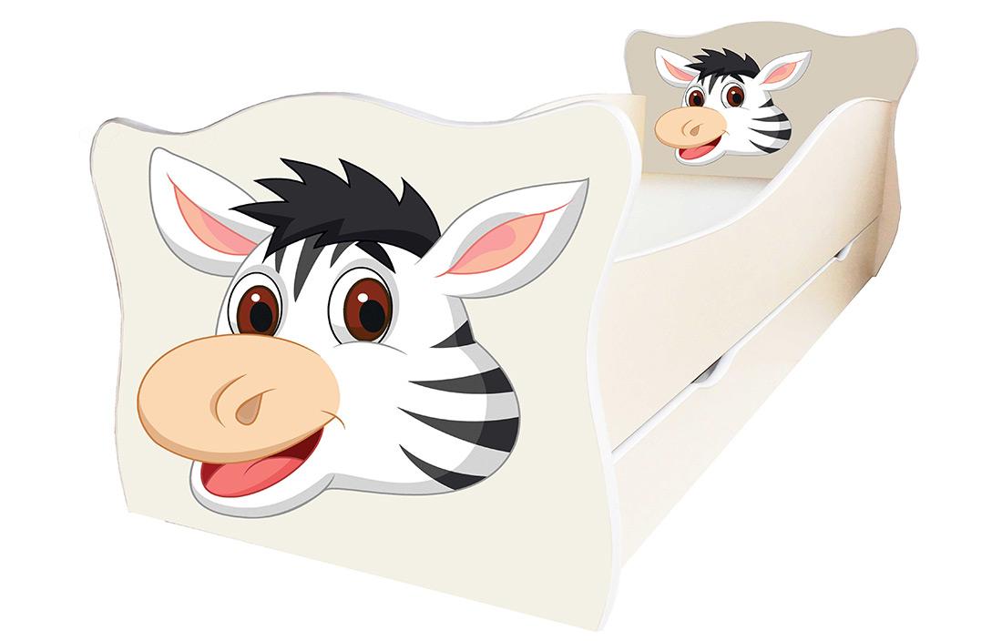 Фото Кровать детская «Animal 16» 70*140 | Код товара: 610490 - SOFINO.UA