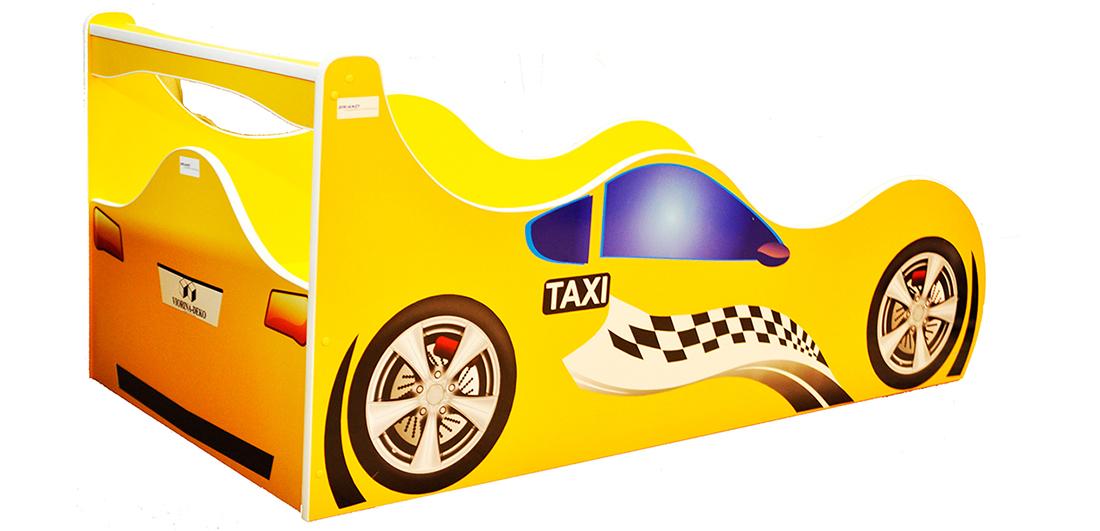 Кровать детская «Форсаж Ф-0006   Taxi» 70*140