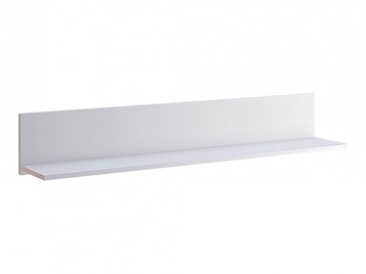 Фото Поличка настінна Міромарк «Асті» 20x120x21,6 Білий Розпродажна позиція - SOFINO.UA