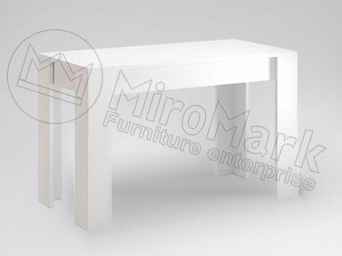 Фото Стіл столовий Терра Міромарк ДСП 120*65 Розпродажна позиція - SOFINO.UA