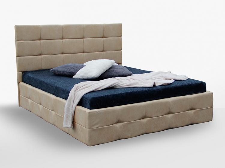 Фото Ліжко м'яке Міромарк «Брістоль» 160х200 (Без ламелей) - SOFINO.UA