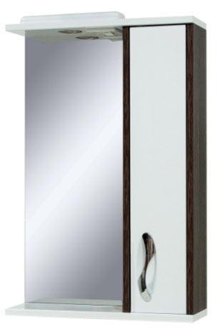 Фото Зеркало «Sirius-55» cо шкафчиком (винтаж темный) Сансервис - sofino.ua
