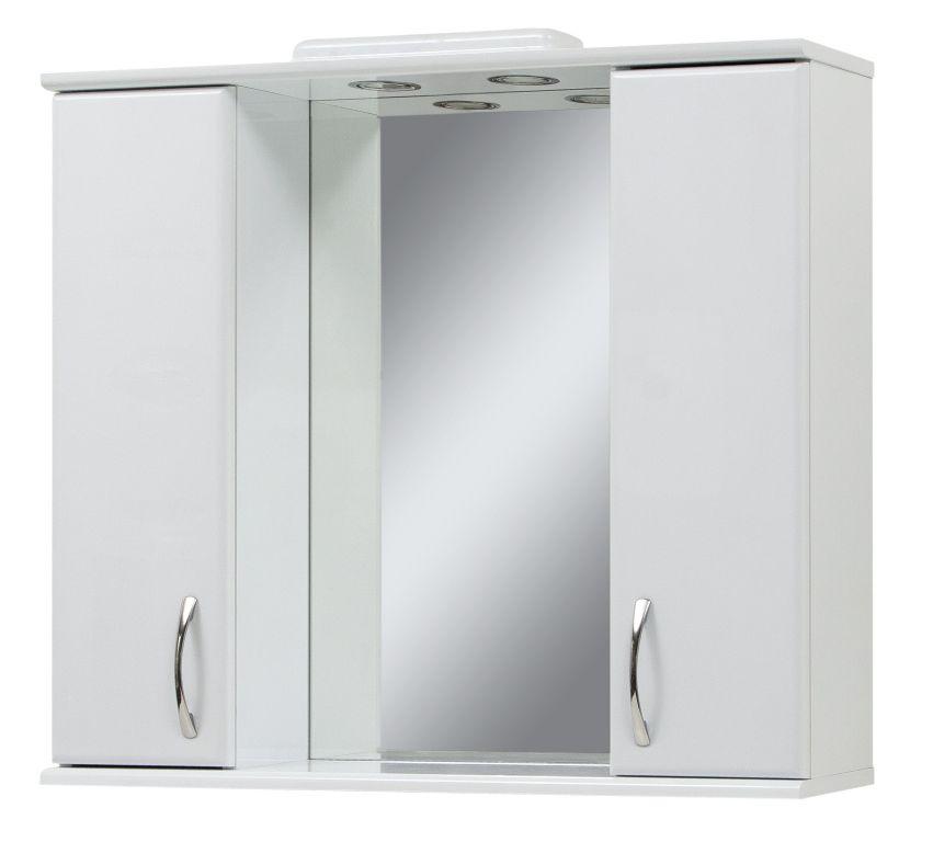 Фото Зеркало «Z-85» с двумя шкафчиками Сансервис - sofino.ua