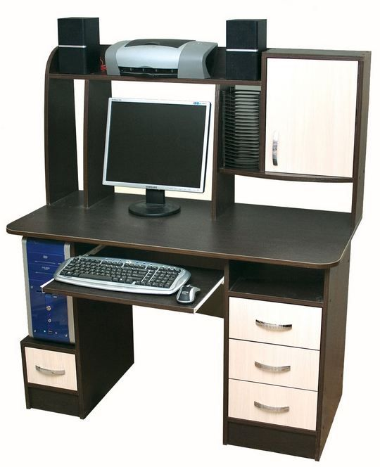 Фото Компьютерный стол «Ника 12» NIKA мебель - sofino.ua