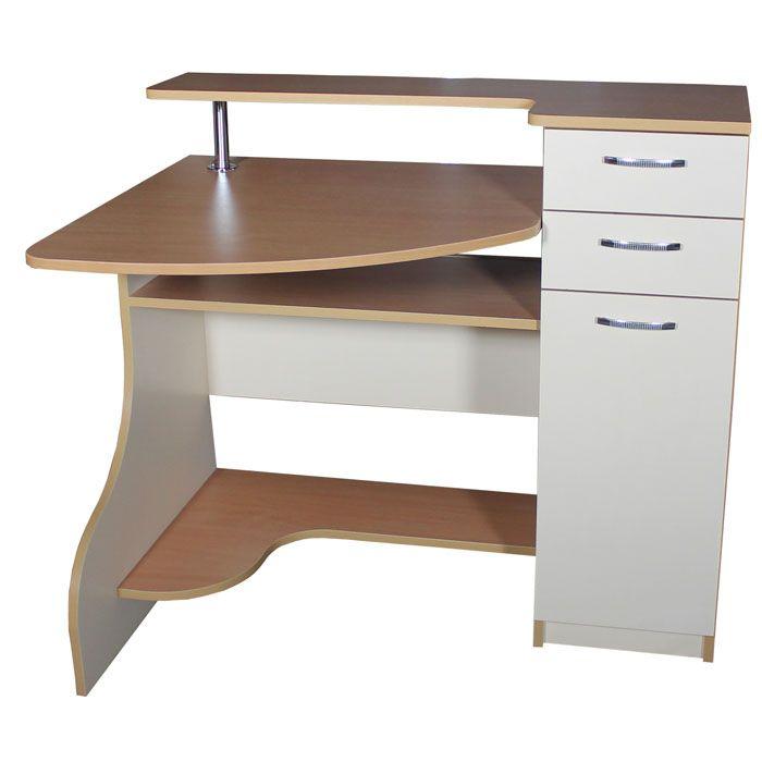 Фото Компьютерный стол «НСК 2» NIKA мебель - sofino.ua