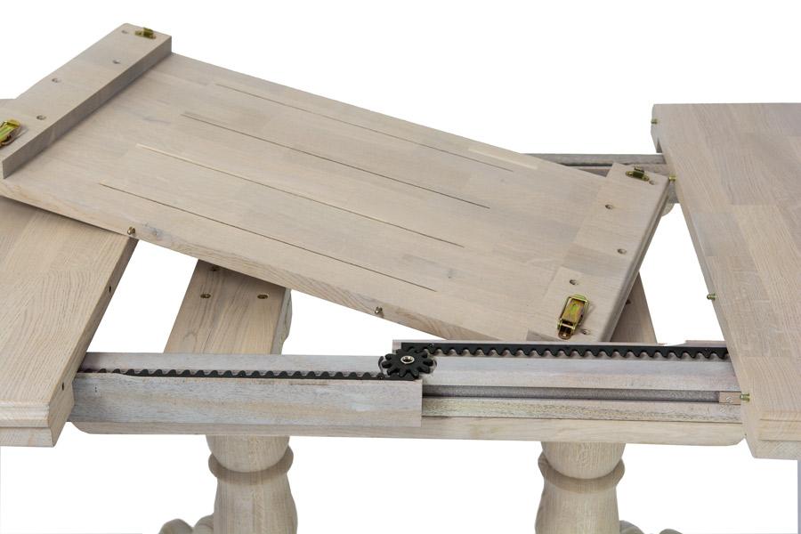 Фото Стол раздвижной «Испано» (120-160*80) толщина ноги 150 мм Лоран - sofino.ua