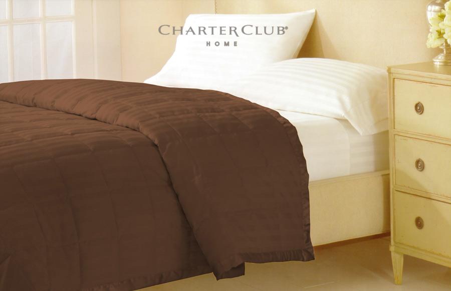 Фото Покрывало «Damask stripe» Chocolate Home Line - sofino.ua