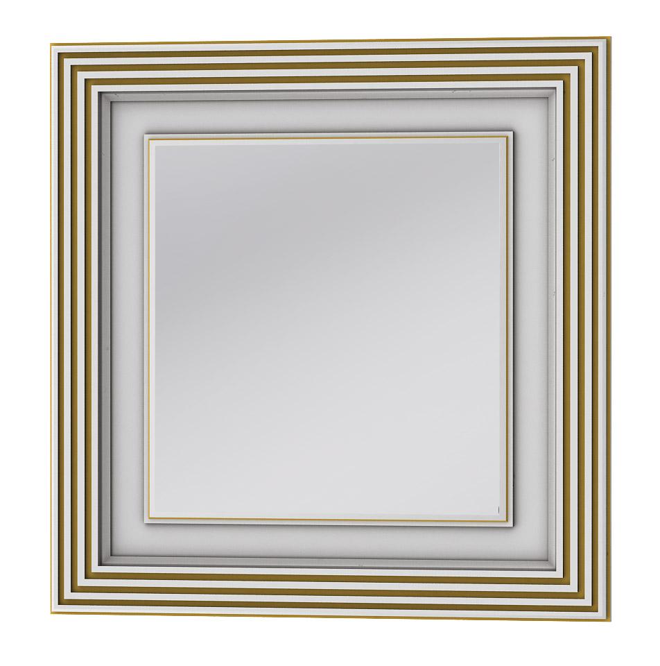 Фото Зеркало TM-80 «Treviso» белый/медь Botticelli - sofino.ua