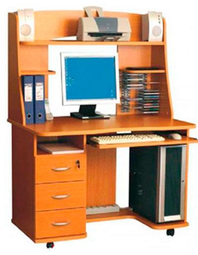 Фото 2 Стол компьютерный «Карме» - SOFINO.UA