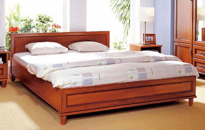 Кровать 120 «Нью-Йорк» Яблоня локарно