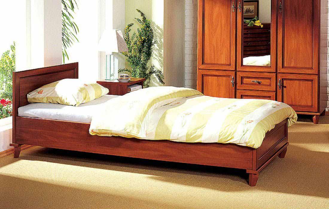 Кровать 90 «Нью-Йорк» Яблоня локарно