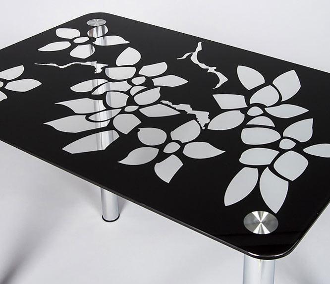 Фото Стеклянный кухонный стол «Wanda» ZEUS - sofino.ua