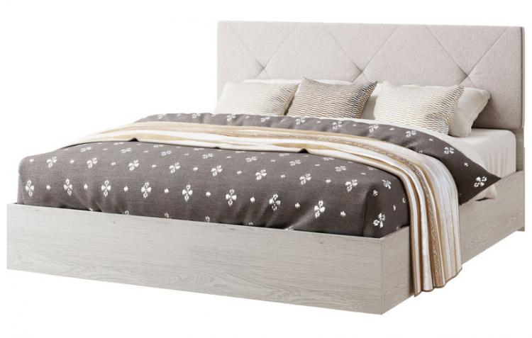 Фото Ліжко двоспальне Ромбо Світ Меблів • 160х200 • Аляска Розпродажна позиція - SOFINO.UA